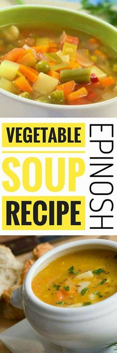 The vegetable soup is a delicious and nutritious spoon dish. There are many ways to prepare it and we will tell you how to make a vegetable soup in conditions.