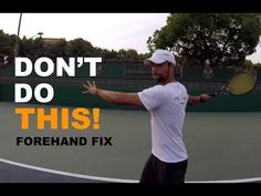 Three Most Common Forehand Mistakes - How To Fix (TENFITMEN - Episode 71) - YouTube Tennis Tips, Most Common, Mistakes, Improve Yourself, Sports, Youtube, Hs Sports, Sport, Youtubers
