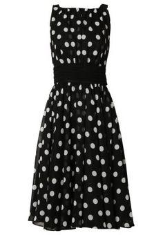 Cocktailkleid / festliches Kleid - black/white
