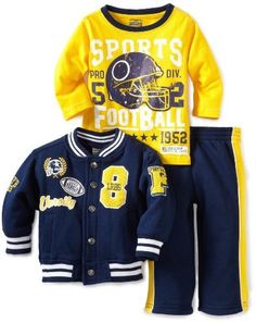 Little Rebels Baby-boys Infant Three Piece Little Rebels Varsity Jacket Set, Navy, 24 Months Little Rebels, http://www.amazon.com/dp/B0080R16X0/ref=cm_sw_r_pi_dp_vmcsqb0DSRFBA
