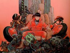 Akira is a Japanese animated cyberpunk science fiction film that depicts a dystopian Neo-Tokyo in 2019. The plot focuses on biker Tetsuo Shima and his psychic powers and a biker gang member, Shotaro Kaneda, who tries to prevent Tetsuo from releasing the dangerous psychic Akira.