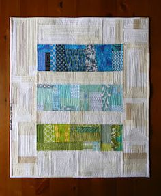 lots of straight line quilting by teaginnydesigns