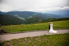 Talk about a dramatic entrance! The aisle at the Vail Wedding Deck. Design and planning by L Elizabeth Events. http://iconicweddings.com/Destinations/Vail/venues.aspx #mountainweddings