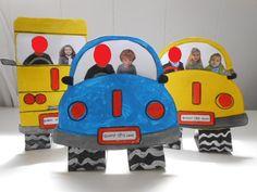 bricolage fête des pères rallye-liens des nounous. la voiture !! par Marie Noëlle
