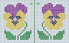 Клуб ЛОПАПЕЙСА's photos Small Cross Stitch, Cross Stitch Cards, Cross Stitch Rose, Cross Stitch Borders, Cross Stitch Flowers, Cross Stitch Designs, Cross Stitching, Cross Stitch Embroidery, Cross Stitch Patterns