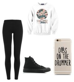 """""""Causal School Day"""" by ashtonsgirl-5soslover on Polyvore featuring Polo Ralph Lauren and Converse"""