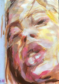 sketchbook - mixed media - 24.12.2015 - W.DECHANT