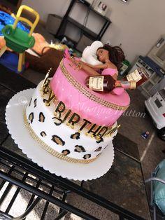 18th Birthday Cake For Girls, 19th Birthday Cakes, Barbie Birthday Cake, Funny Birthday Cakes, Custom Birthday Cakes, Adult Birthday Cakes, Custom Cakes, Alcohol Birthday Cake, Alcohol Cake