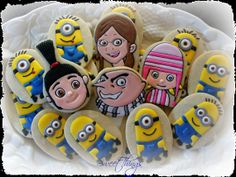 Despicable Me Cookies by SweetThingsCompany on Etsy, $28.00