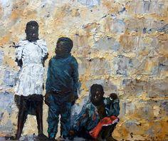 Waiting | 2011 Oil on canvas | 406 x 508 #RosKochArt