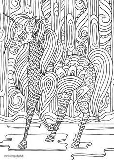 Coloring Pages Horses Mandalas Embroidery Colouring Printable Books Sheets Horse