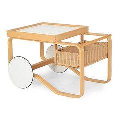 <b>Alvar Aalto for Artek</b> <br  /> tea trolley <br  />…