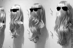 margiela hair display