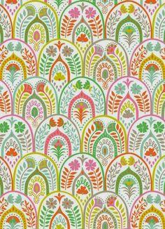 print & pattern: FABRICS - ana davis for blend