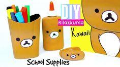 DIY Rilakkuma -Back to School Diy Supplies - Kawaii Diy crafts, projects, room decor ideas Pinterest