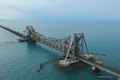 Pamban Bridge, Rameswaram, South India by Jasmin Sajna on 500px