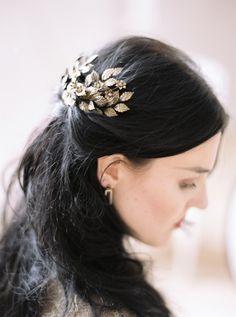 Lady Baratheon's black hair