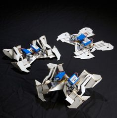 Robotics is getting more lifelike with these robots that can fold and unfold like origami.