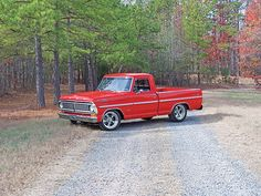 1970 Ford Truck F 100 pick up with polished American Racing Torq Thrust II…