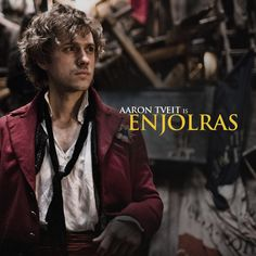 Les Mis (2012) | Aaron Tveit stars as 'Enjolras' in director Tom Hooper's big screen adaptation of the acclaimed musical Les Misérables.