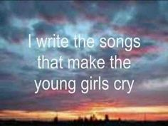 """I write the songs - Barry Manillow """" I USED TO WRITE SONGS FOR YEARS!"""" NEVER WANTED THEM PUBLISHED! THEY HELD MY HEART, MY SOUL IN THEIR VERSES! VERY FEW EVER HEARD ANY OF THEM! XXOO"""