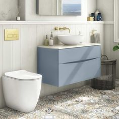 Find your perfect countertop basin unit here, with designer countertop vanity units from brands such as Roper Rhodes and Crosswater available up to off. Vanity Units Uk, Sink Vanity Unit, Vanity Basin, Bathroom Vanity Units, Wall Hung Vanity, Bathroom Furniture, Floating Bathroom Sink, Add A Bathroom, Bathroom Sink Cabinets