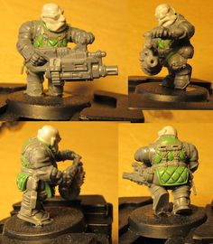 The Grim, Warhammer 40000, Dwarf, Aliens, Squats, Modeling, Projects To Try, Workshop, Miniatures