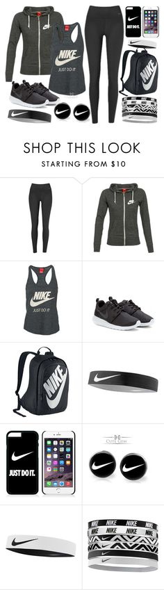 """NIKE"" by ada-ewe ❤ liked on Polyvore featuring NIKE"
