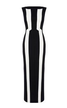 Vertical Stripe Maxi Dress #london #shopping #fashion #retailer #gng