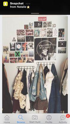 Grunge indie wall