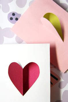 DIY Valentine's Day cards - Pinjacolada blog