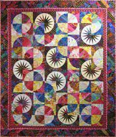 Bali Fever~Quiltworx.com, made by Tennessee Quilts