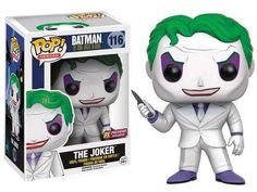 DC The Dark Knight Returns Funko POP! Heroes The Joker Exclusive Vinyl Figure #116 [The Dark Knight Returns]