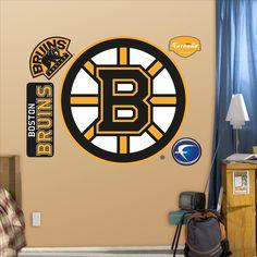 Boston Bruins Logo Fathead Decal | Set