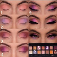 60 Easy Eye Makeup Tutorial For Beginners Step By Step Ideas(Eyebrow& Eyeshadow). - 60 Easy Eye Makeup Tutorial For Beginners Step By Step Ideas(Eyebrow& Eyeshadow)…- - Prom Eye Makeup, Eye Makeup Steps, Simple Eye Makeup, Natural Eye Makeup, Rave Makeup, Natural Eyeshadow, Homecoming Makeup, Wedding Makeup, Matte Eyeshadow