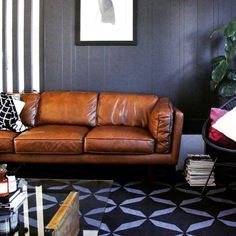 Cool and comfortable our best-selling Brooklyn sofa sits pretty @h_and_g_designs place. The perfect spot for a long weekend Monday #freedoma
