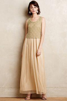 Beaded Arabella Maxi Dress - anthropologie.com