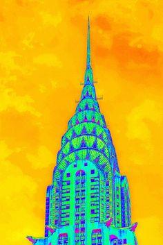 chrysler building by gepiblu, via Flickr
