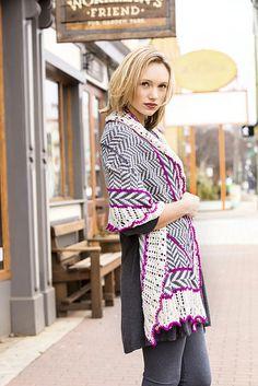 Ravelry: Herringbone Shawl pattern by Amy Gunderson