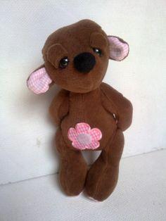 Hozene - Alvóka mackó  Baba, Játék, Plüssállat, rongyjáték, kb 20 cm magas, #bear #toy Bear Toy, Teddy Bear, Toys, Animals, Activity Toys, Animales, Animaux, Clearance Toys, Teddy Bears