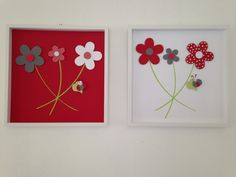 Beautiful and Unique set of 2 Wall Art by AnnMaryConsulDesigns