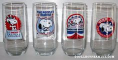 Snoopy for President glasses