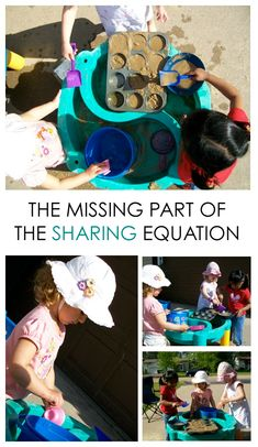 The Missing Part of the Sharing Equation - How to ensure kids learn to do it on their own #parenting *Great tip