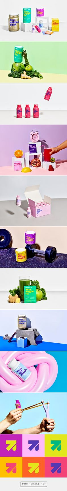 Eboost Protein Products design packaging by Gander