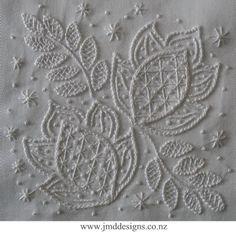 JMD Designs - JMDWW5 Courage- Whitework Needlework, Quilting and Applique