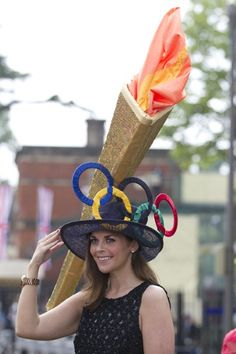 Royal Ascot 2012 'Olympic Torch' hat - Fashion Galleries - Telegraph