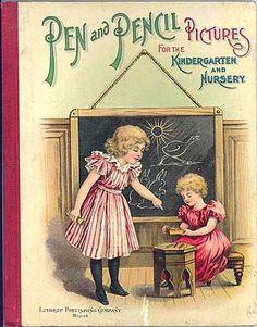 Victorian Children's Book Cover