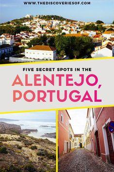 Alentejo, Portugal Travel Guide - 5 beautiful travel destinations in Portugal #portugal #traveldestinations