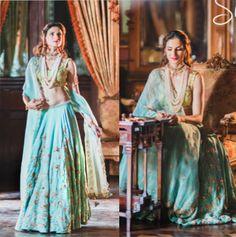 Designer Shilpa Reddy Dressed in her own creation, heavily embroidered Lehenga with Organza Silk Dupatta.  #shilpareddy #lehengas #weddingfashion #indianwedding #shilpareddystudio