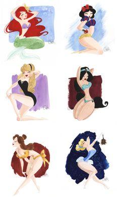 Disney busty princesses